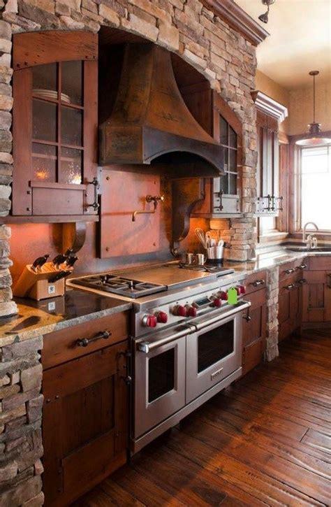kitchen island rustic cocinas rústicas de madera piedra ladrillo y diseños