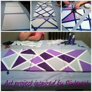 Leinwandbilder Selber Malen : canvas tape art home pinterest ~ Eleganceandgraceweddings.com Haus und Dekorationen