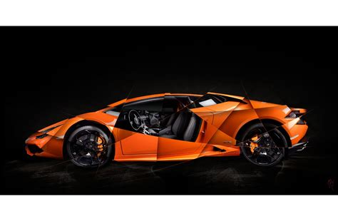 Lamborghini Photo by Lamborghini Huracan Print Signed Limited By