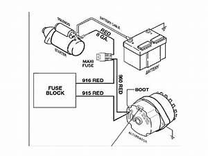 basic gm alternator wiring catalog wiring diagram for gm With one wire alternator diagram