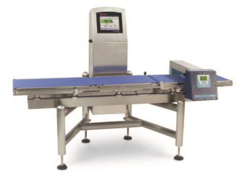combination checkweigher  metal detector