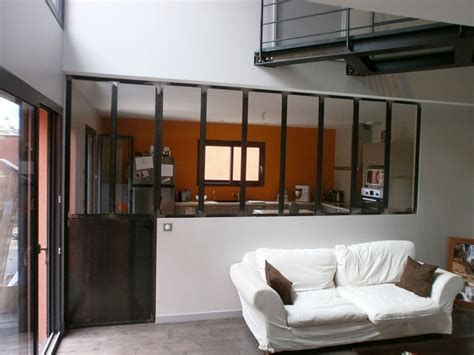 la porte de la cuisine cloison vitrée charbonnières les bains tassin la demi