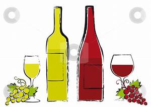Wine Glass and Bottle Clip Art – Cliparts