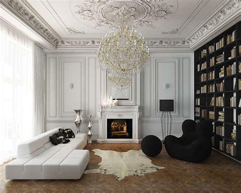 beautiful modern classic house design inspiration appartement haussmanien gallart