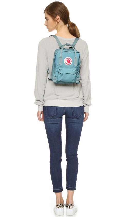 Lyst - Fjallraven Kanken Mini Backpack in Blue