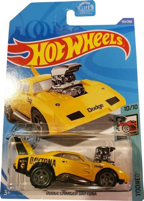 dodge charger daytona hot wheels  treasure hunt