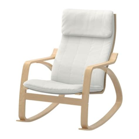 po 196 ng rocking chair alme birch veneer ikea
