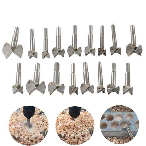 woodworking forstner drill bits sets heheinc  pcs carbon
