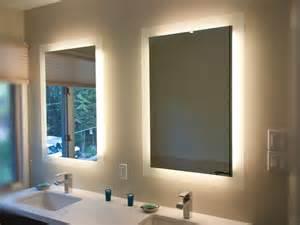 lighted mirror lumidesign