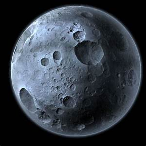 3D model Highly Detailed Planet or Moon with Big Craters ...