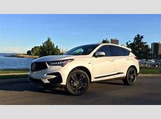 2019 Acura RDX compact crossover Details make the
