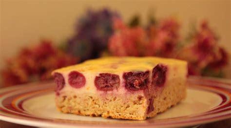 Quark-kirsch-kuchen Zum Kaffeeklatsch