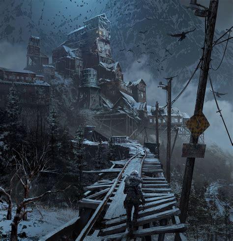 Maxraider Rise Of The Tomb Raider Concept Art