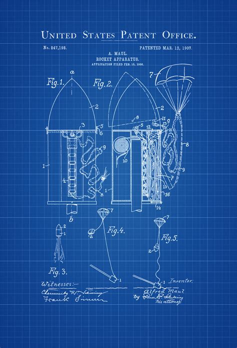 rocket blueprint archives mypatentprints