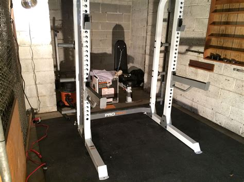 fitness gear pro half rack project building a home squatting benching