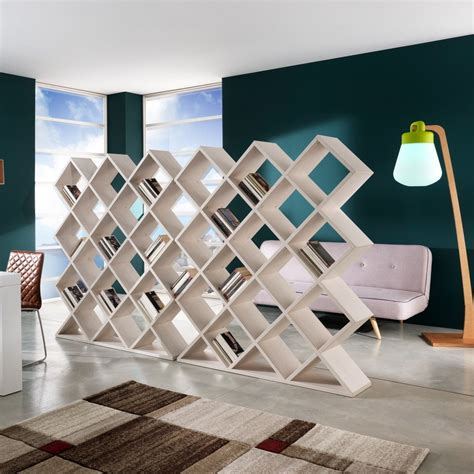libreria a giorno ikea libreria divisoria mynest a nido d ape in legno 140 x 160 cm