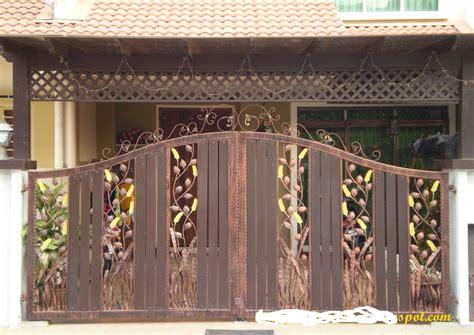 desain pagar rumah stainless steel terbaru informasi