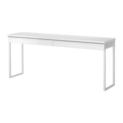 bestå burs desk high gloss white cb2 white cabana