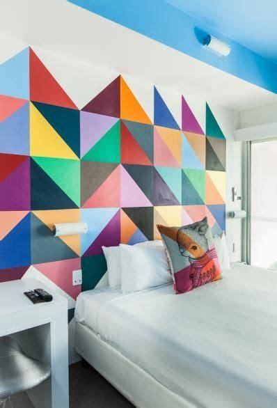 paredes geométricas Pared geométrica Decoración de la