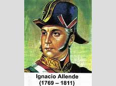 Ignacio Allende y Unzaga Biografia Ciclo Escolar