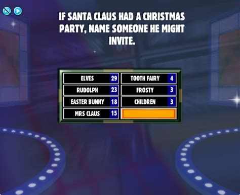 facebook family feud cheats august 2010