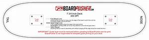 boardpusher help design tips design your own skateboard With longboard truck template