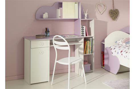 bureau chambre fille bureau de chambre fille blanc et lilas trendymobilier com
