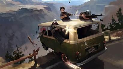 Pubg 4k Battlegrounds Wallpapers Games Playerunknown Minibus