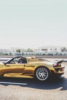 gold porsche truck gold porsche 918 cars sports cars quot cool cars