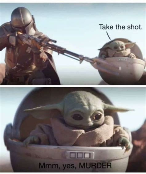 Best Baby Yoda Memes from Star Wars The Mandalorian - Baby ...