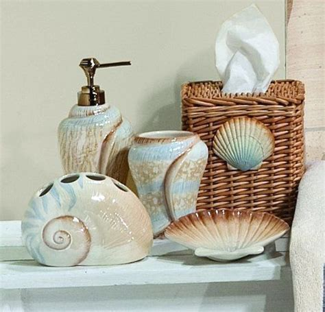 themed kitchen canisters sarasota seashells toothbrush holder saturday http