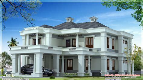 Luxury Kerala Home Plan 3900 Sqfeet Indian House Plans