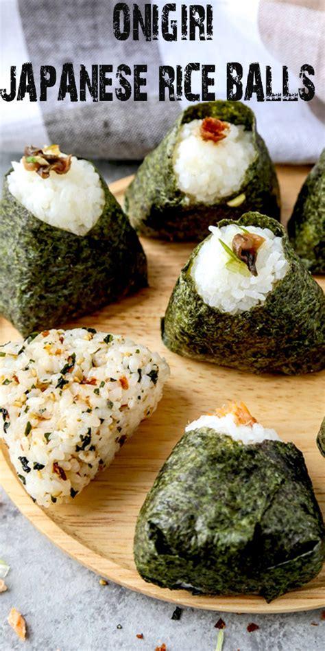 onigiri japanese rice balls  fun  cooking