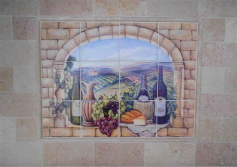 kitchen murals design small tuscan wall murals tedx designs the best of 2331