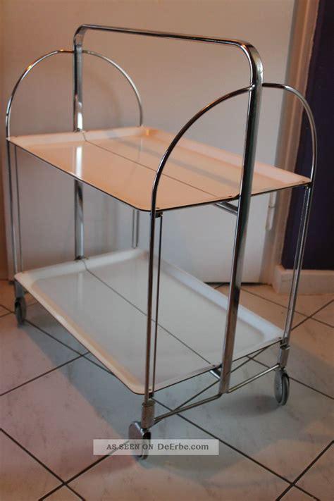 esszimmerstühle design klassiker trolley rollwagen dinett servierwagen teewagen 60er jahre wei 223 design klassiker