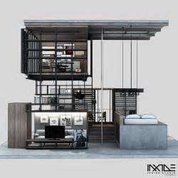Home Interior Materials Compact Modern House Made From Affordable Materials