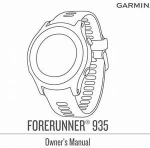 Garmin Forerunner 935 Manual