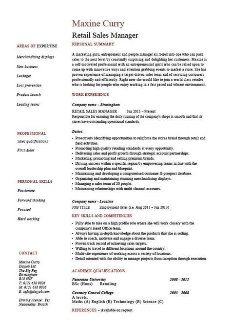 28 retail sales representative description resume sales