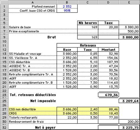comment arriver du salaire brut au net