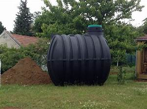 Récupérateur D Eau De Pluie 1000 Litres : maison cologique installation d 39 une cuve enterr e de ~ Dailycaller-alerts.com Idées de Décoration