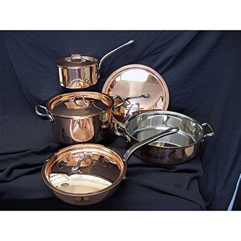 copper cookware   top
