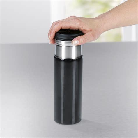 Kaffeebereiter To Go by Gourmetmaxx Thermo Kaffeebereiter Togo Schwarz