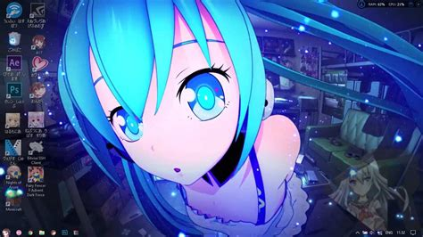 wallpaper pc bergerak anime hatsune miku   wallpaper