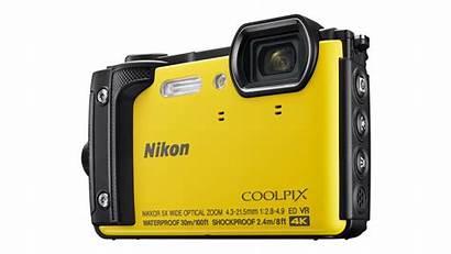 Camera Waterproof Cameras Underwater Nikon Splash W300