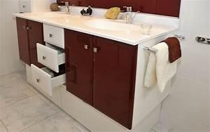 salle de bain a nantes fabricant de meubles sur mesure With meuble de salle de bain posé au sol