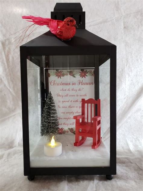 christmas  heaven lantern  red chair christmas