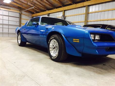 1978 Blue Trans Am by 1978 Martinique Blue Trans Am For Sale In Carleton