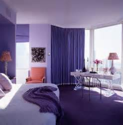 Purple Color Bedroom
