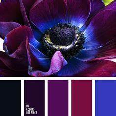 Grey and purple color palette
