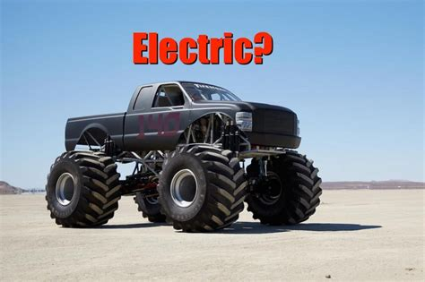 bigfoot electric monster truck bigfoot ev a monster truck that runs on electricity